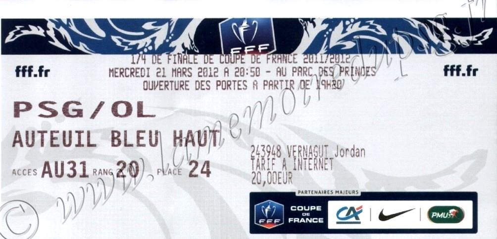 2012-03-21  PSG-Lyon (Quart Finale CF)