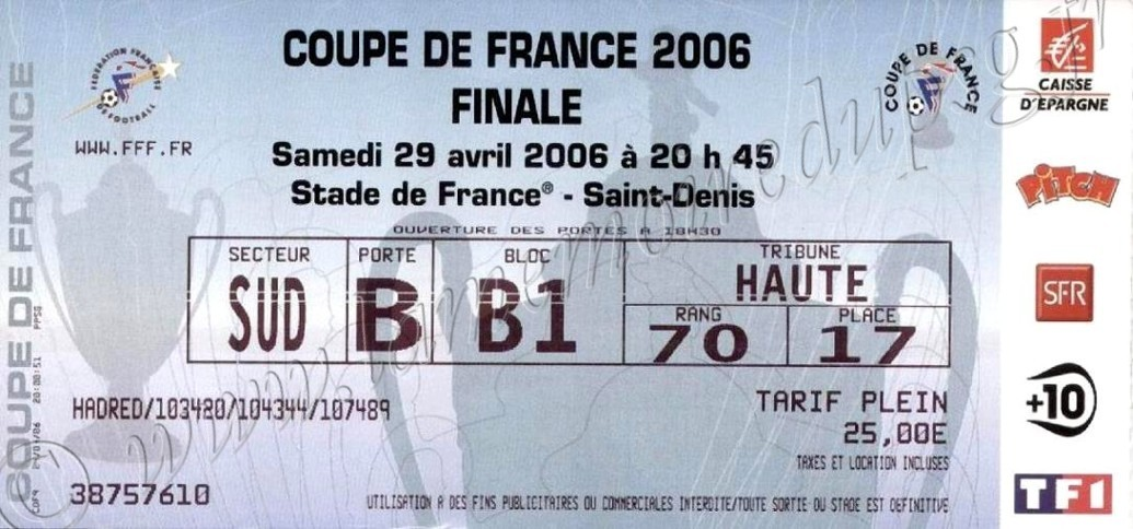 2006-04-29  PSG-Marseille (Finale CF au Stade de France)