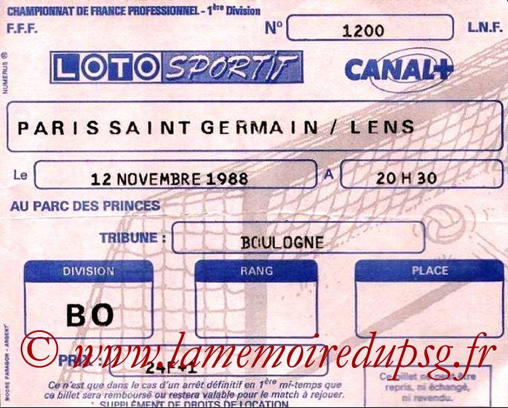 1988-11-12  PSG-Lens (19ème D1)