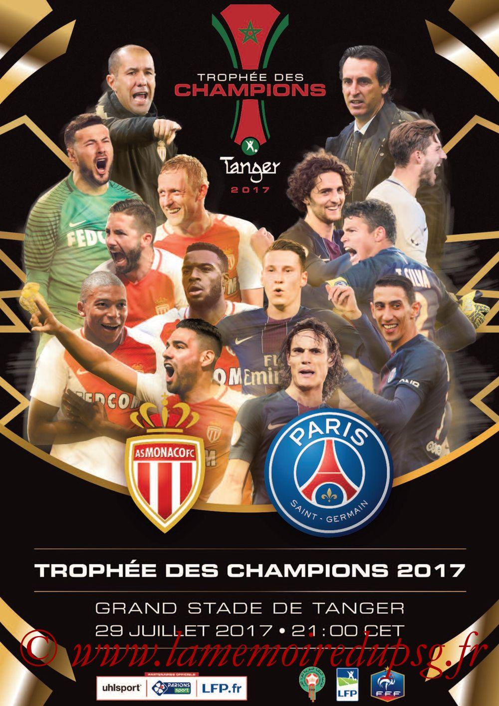 2017-07-29  Monaco-PSG (Trophée des Champions à Tanger, Dossier de Presse)