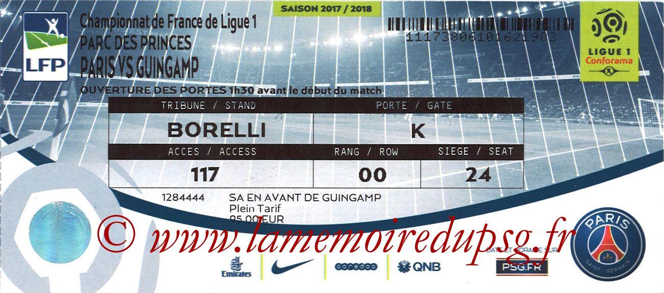 2018-04-29  PSG-Guingamp (35ème L1 bis)
