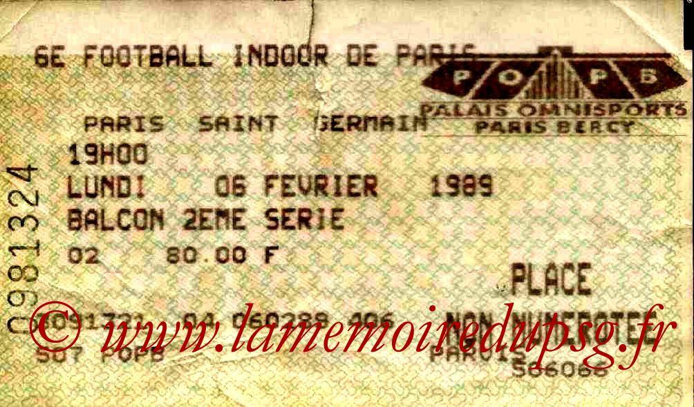 1989-02-06  6ème Foot indoor à Bercy (1ère journée)