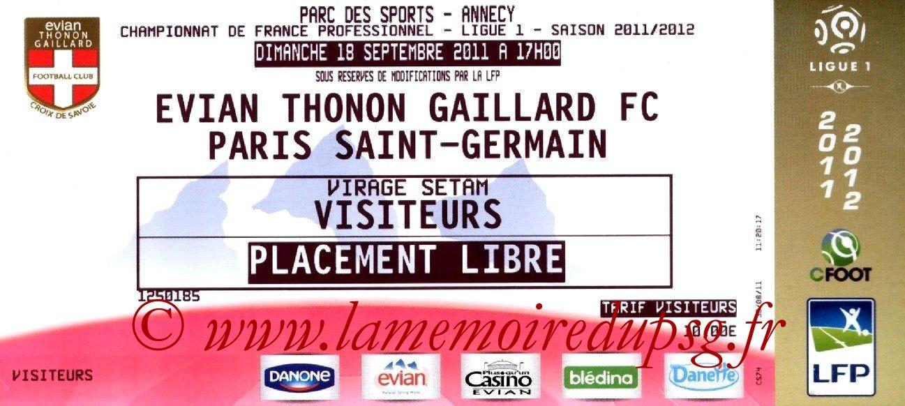 2011-09-18  Evian TG-PSG (6ème L1)