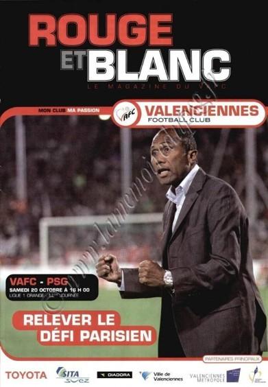 2007-10-20  Valenciennes-PSG (11ème L1, Rouge et Blanc)