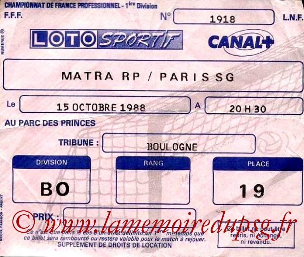 1988-10-14  Matra Racing-PSG (16ème D1)
