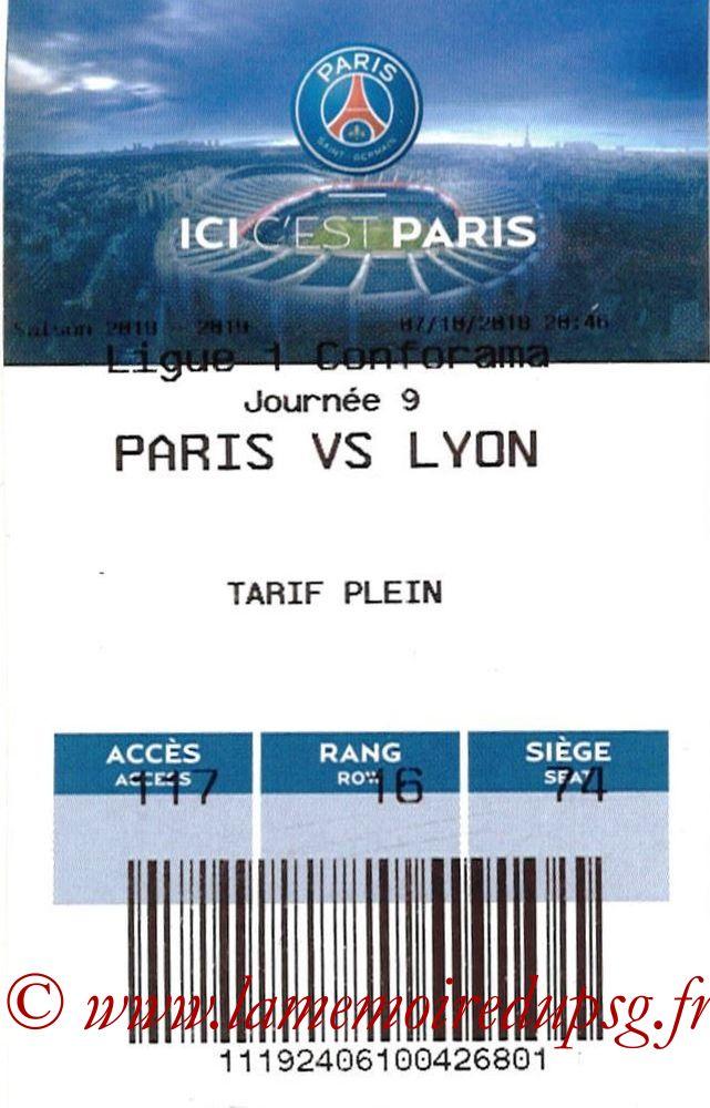 2018-10-07  PSG-Lyon (9ème L1, E-Ticket)