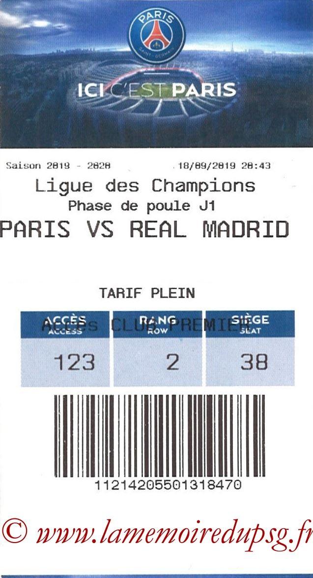 2019-09-18  PSG-Real Madrid (1ère C1, E-ticket)