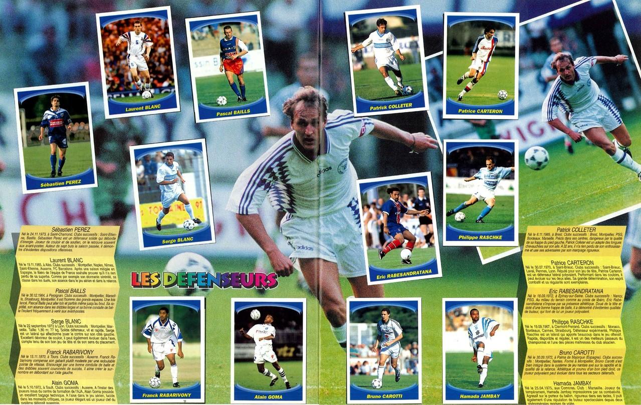 1997-98 - Panini Superfoot - Pages 10 et 11 - Les défenseurs