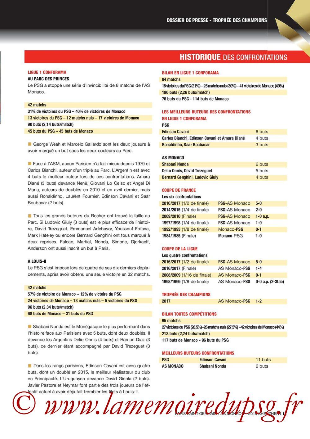 2018-08-04  PSG-Monaco (Trophée des Champions à Shenzhen, Dossier de Presse) - Page 13