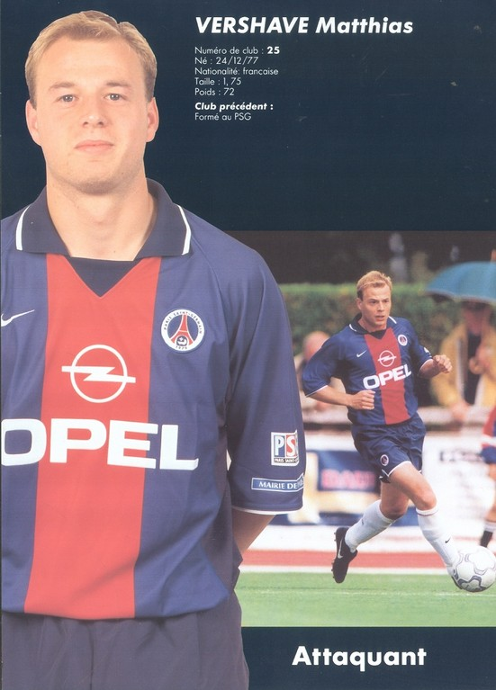 2000-01 - VERSHAVE Matthias