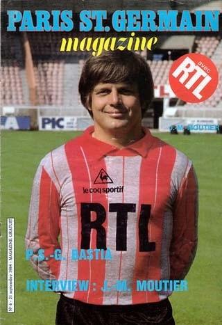 1984-09-21  PSG-Bastia (8ème D1, Paris SG Magazine N°6)