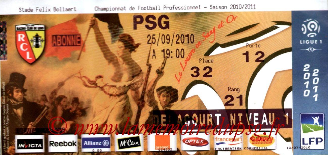 2010-09-25  Lens-PSG (7ème L1)