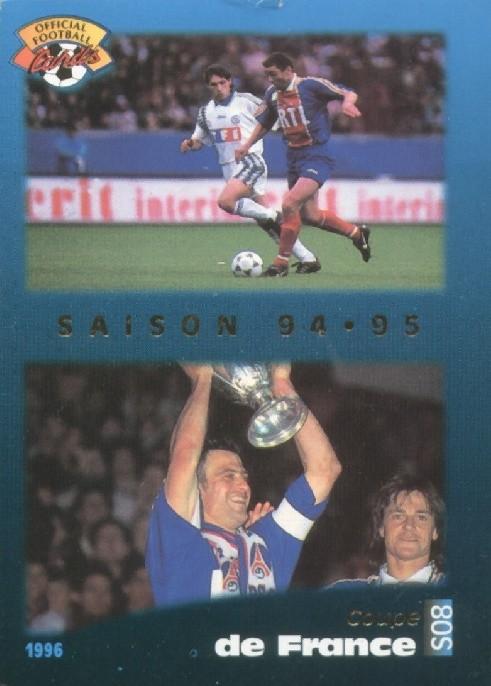 N° S08 - Parcours en Coupe de France (Recto)