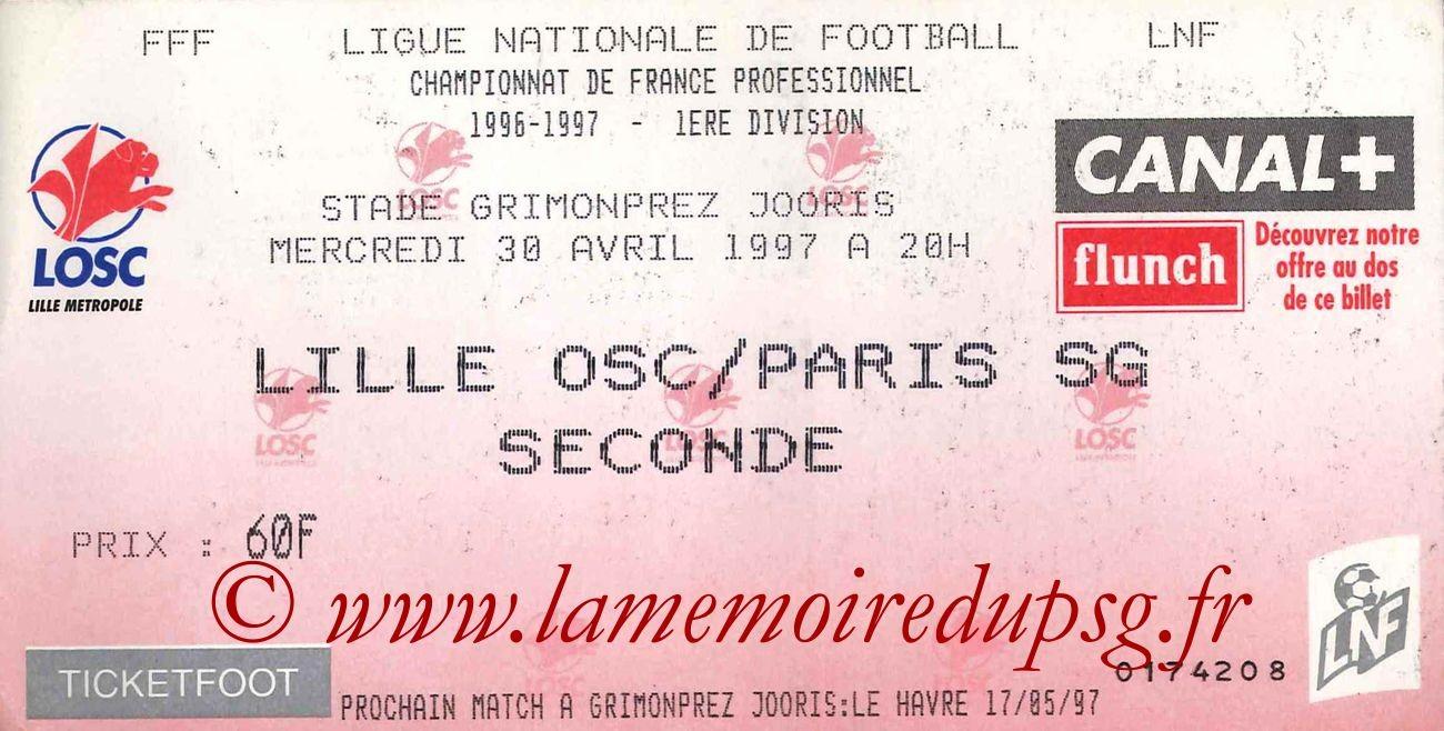 1997-04-30  Lille-PSG (35ème D1)