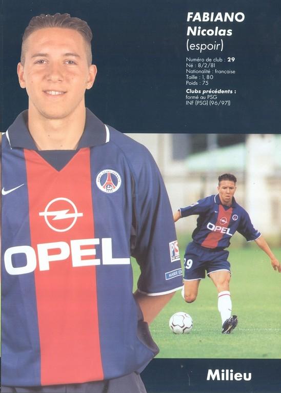 2000-01 - FABIANO Nicolas