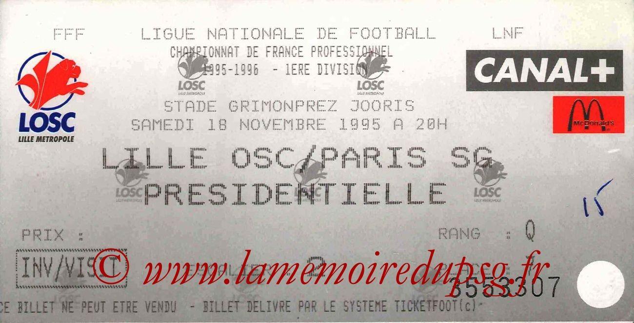 1995-11-18  Lille-PSG (18ème D1)