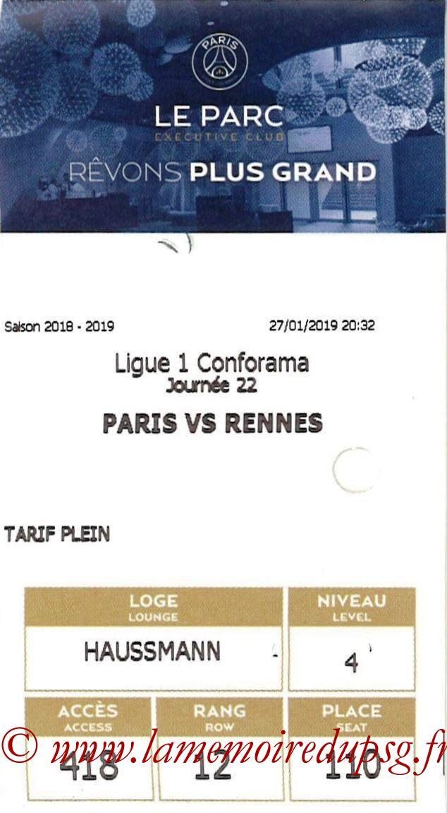 2019-01-27  PSG-Rennes (22ème L1, E-ticket Executive club)