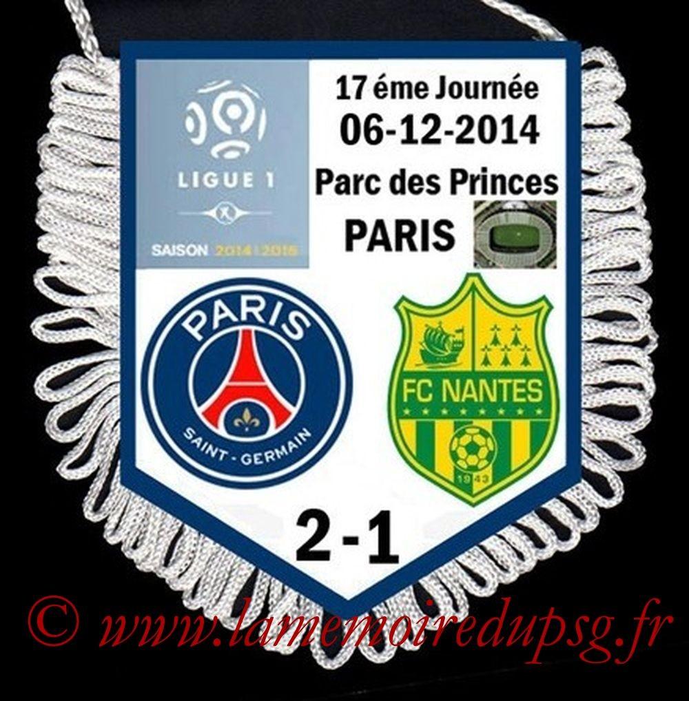 2014-12-06  PSG-Nantes (17ème L1)