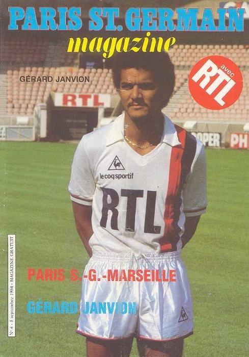 1984-09-08  PSG-Marseille (6ème D1, Paris SG Magazine N°4)