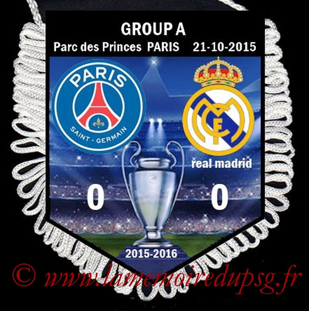 2015-10-21  PSG-Real Madrid (3ème C1)