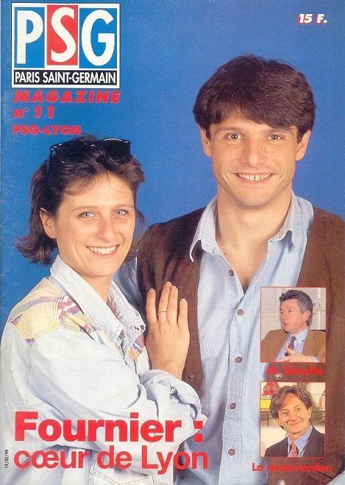 1994-02-19  PSG-Lyon (27ème D1, PSG Magazine N°11)