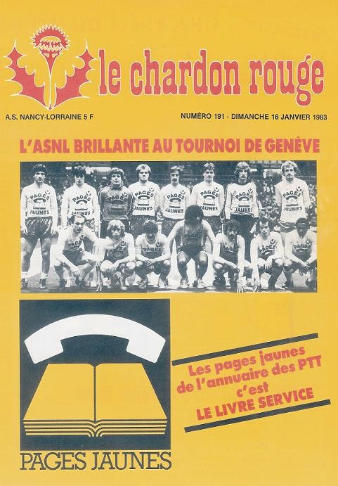 1983-01-15  Nancy-PSG (21ème D1, Le Chardon Rouge N°191)