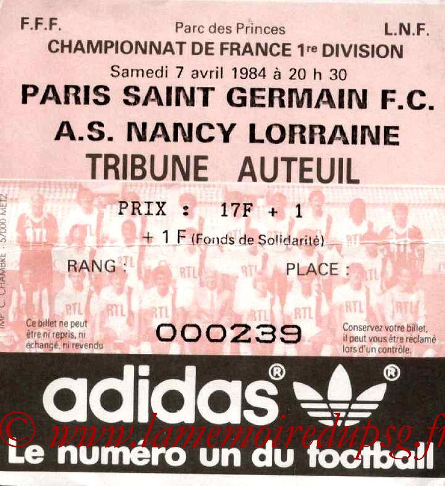 1984-04-07  PSG-Nancy (34ème D1)