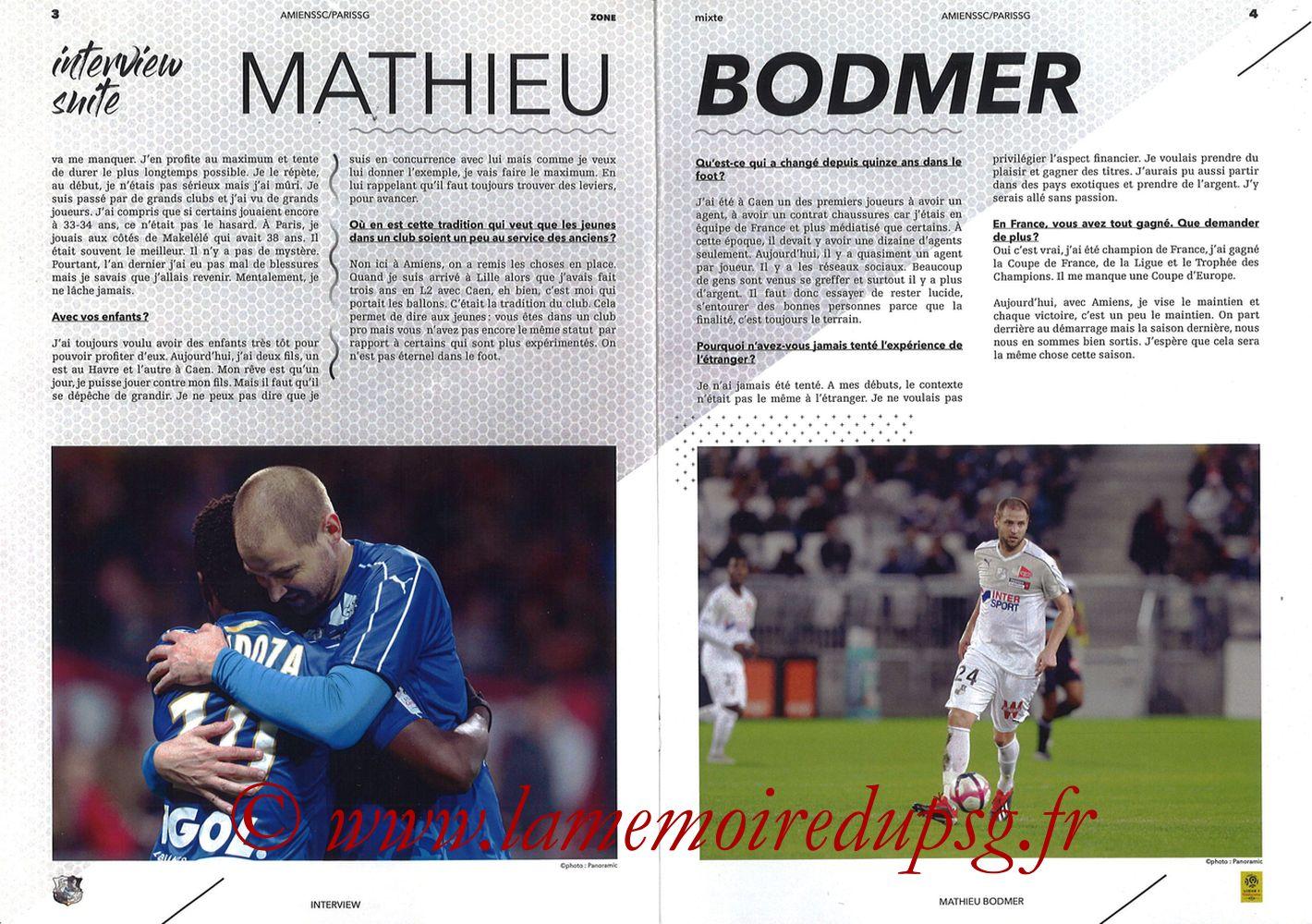2019-01-12  Amiens-PSG (20ème L1, Zone mixte N°9) - Pages 03 et 04