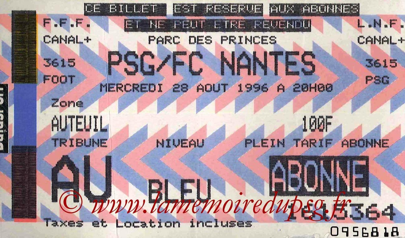 1996-08-28  PSG-Nantes (4ème D1)