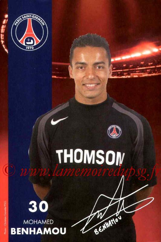 BENHAMOU Mohamed  04-05