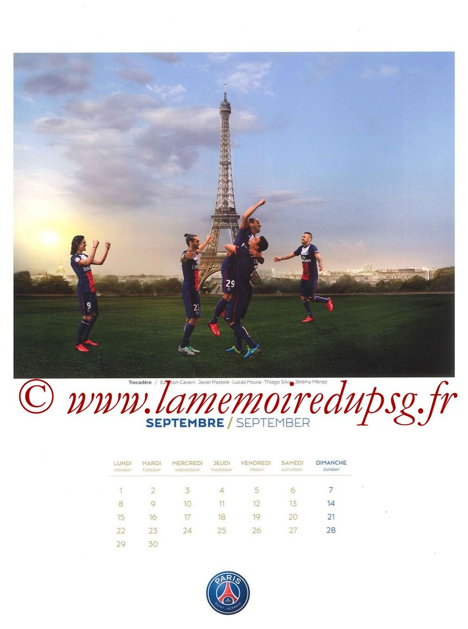 Calendrier PSG 2014 - Page 09 - Trocadéro