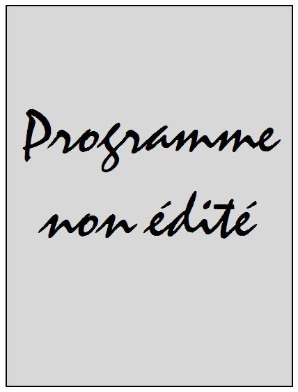 2018-07-15  PSG-Chambly Oise (Amical au Camps des Loges à huis-clos, Programme non édité)