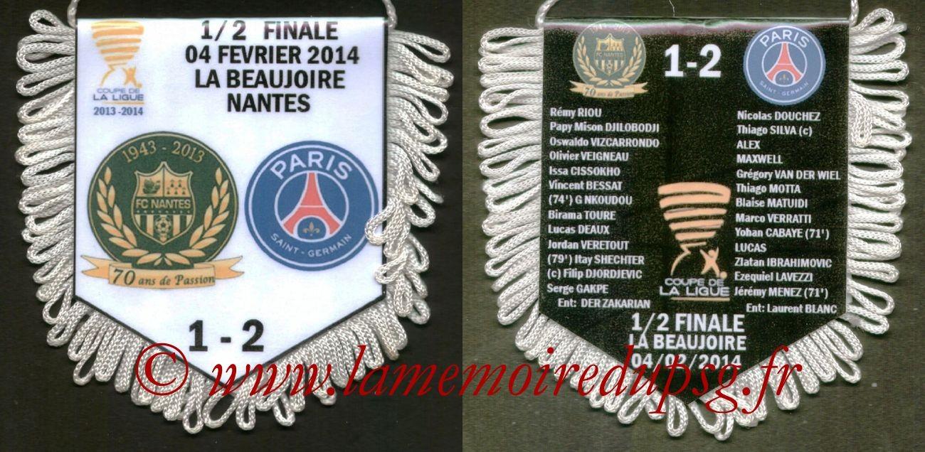 2014-01-08  Brest-PSG (32ème CF)