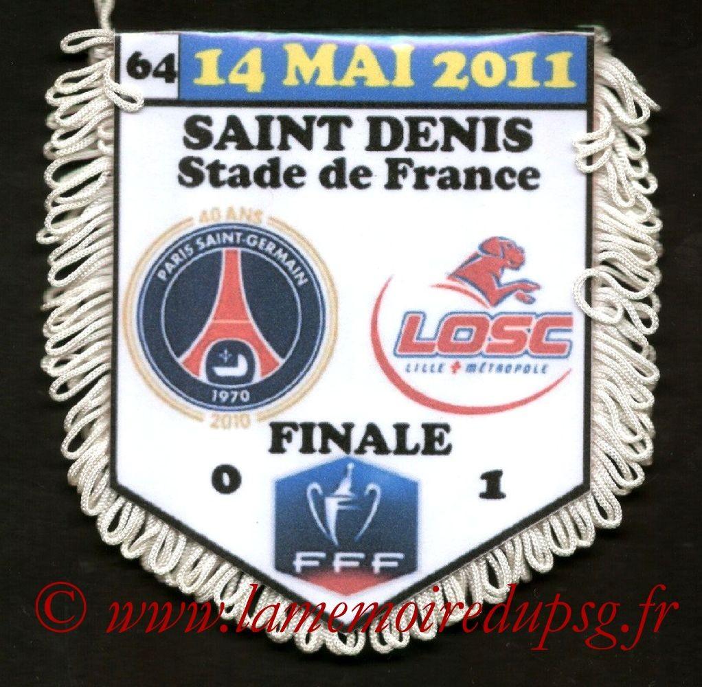 2011-05-14  PSG-Lille (Finale CF à Saint-Denis)
