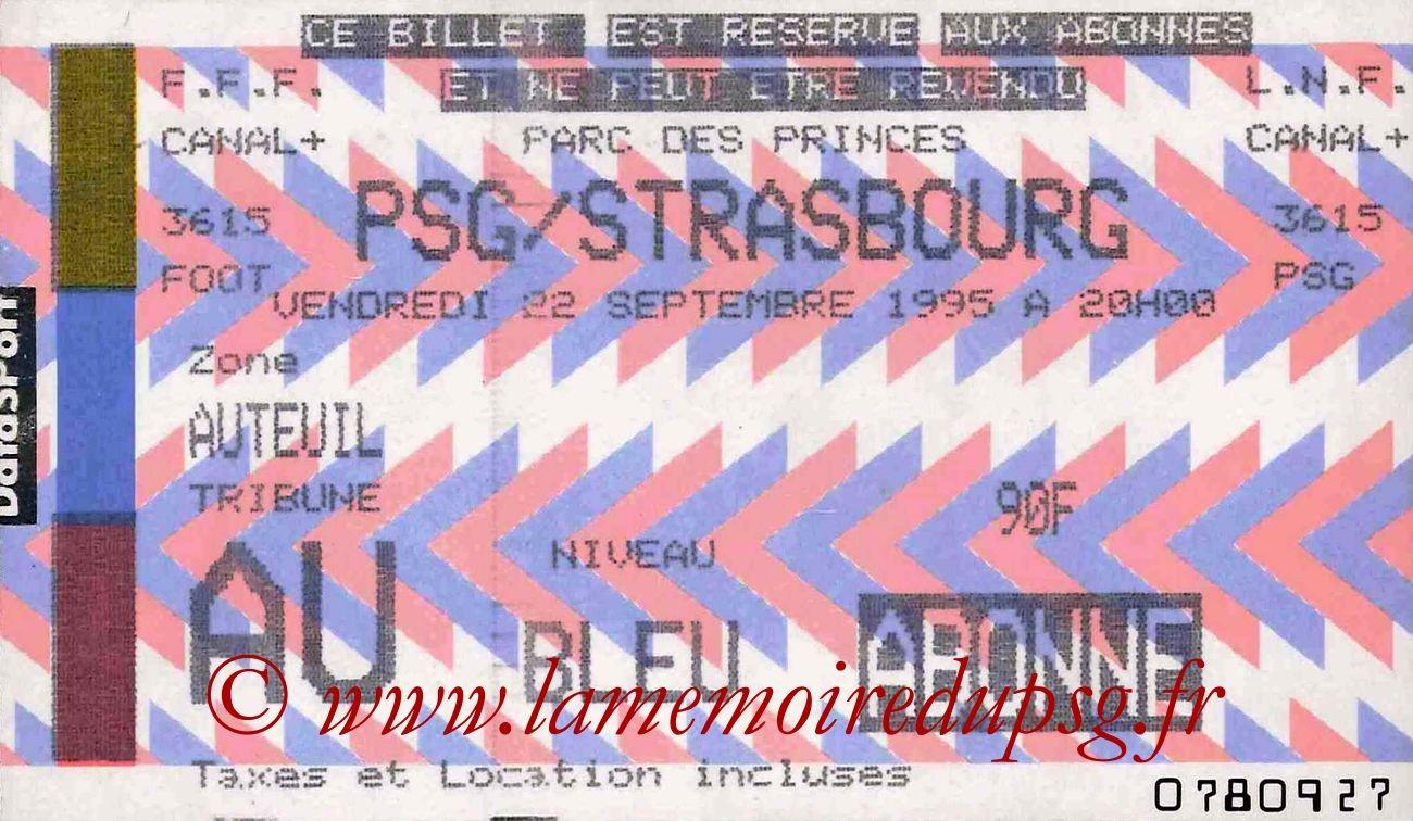 1995-09-22  PSG-Strasbourg (10ème D1)