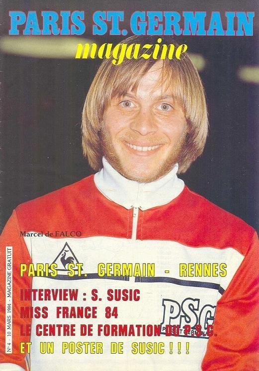 1984-03-10  PSG-Rennes (30ème D1, Paris St Germain Magazine N°4)
