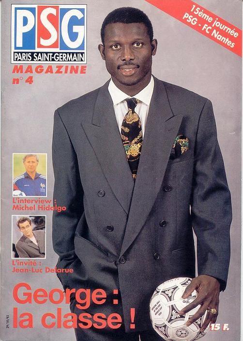 1993-10-29  PSG-Nantes (15ème D1, PSG Magazine N°4)
