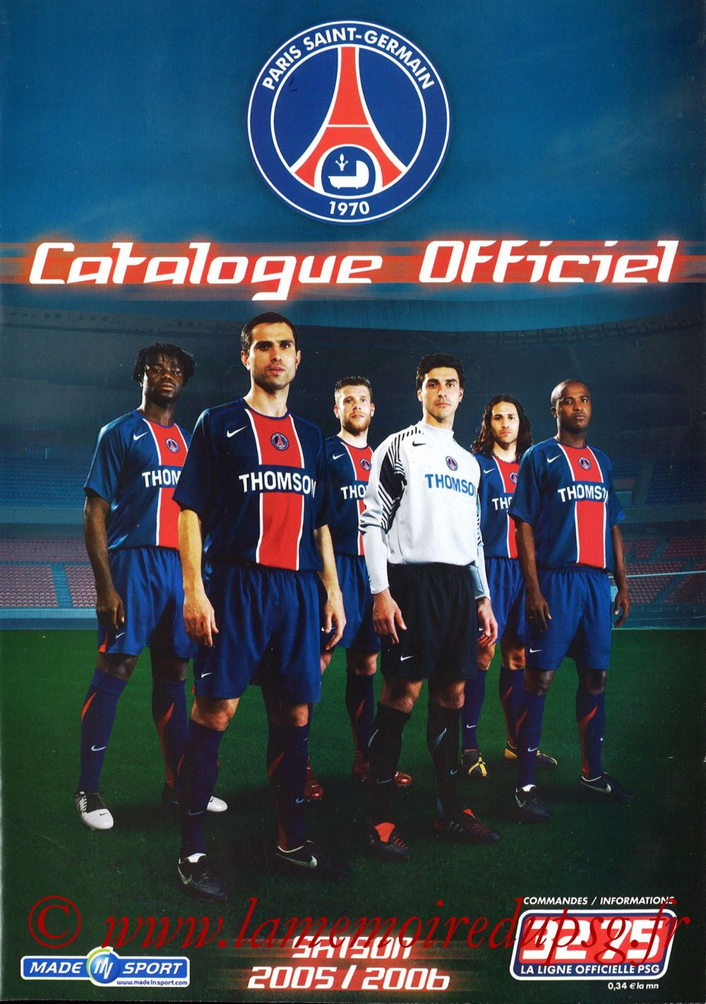 Catalogue PSG - 2005-06b - Page 01