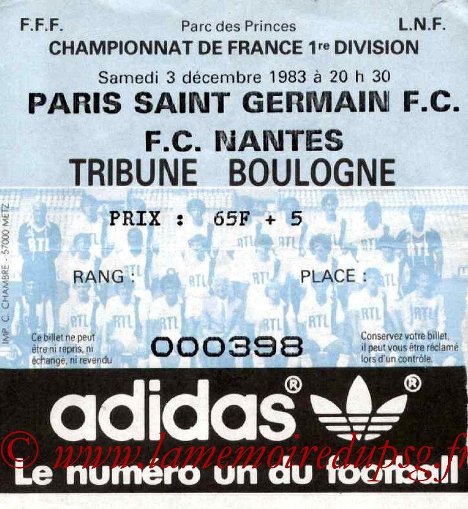 1983-12-03  PSG-Nantes (21ème D1)