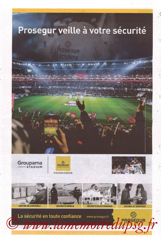 2019-02-03  Lyon-PSG (23ème L1, La Tribune OL N°270) - Page 15