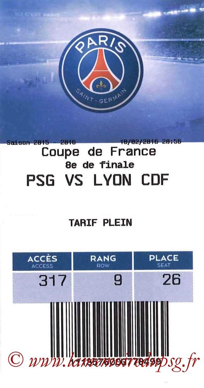 2016-02-10  PSG-Lyon (8ème CF, E-ticket bis)