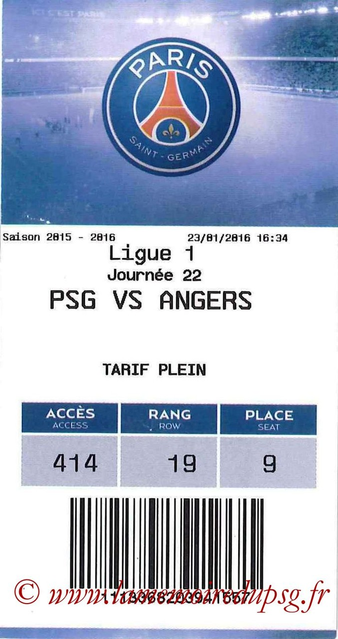 2016-01-23  PSG-Angers (22ème L1, E-ticket)