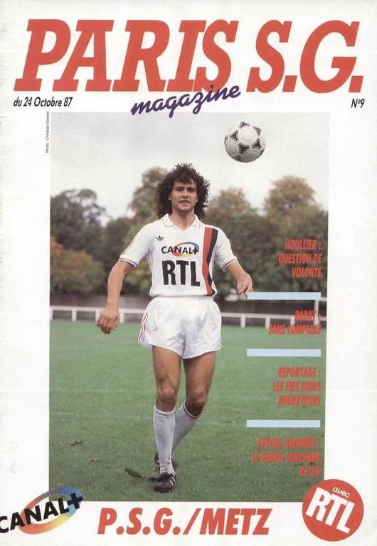 1987-10-24  PSG-Metz (16ème D1, Paris SG Magazine N°9)