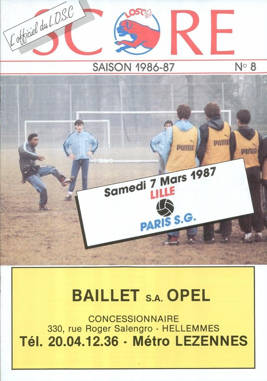 1987-03-07  Lille-PSG (25ème D1, Score N°8).jpg