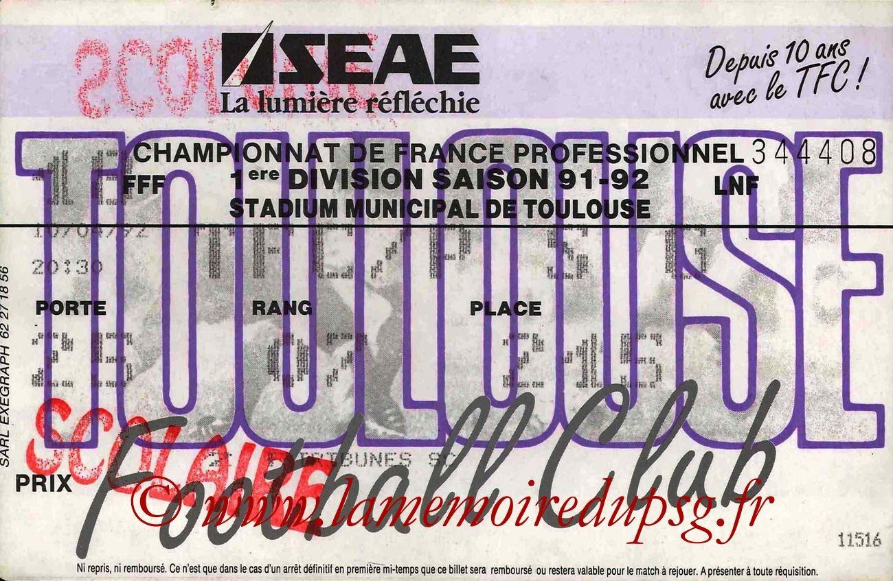 1992-04-10  Toulouse-PSG (35ème D1)