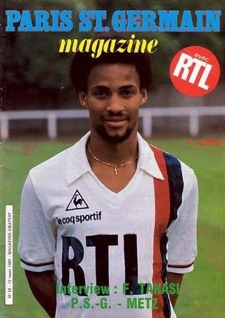1985-03-22  PSG-Metz (29ème D1, Paris SG Magazine N°18)