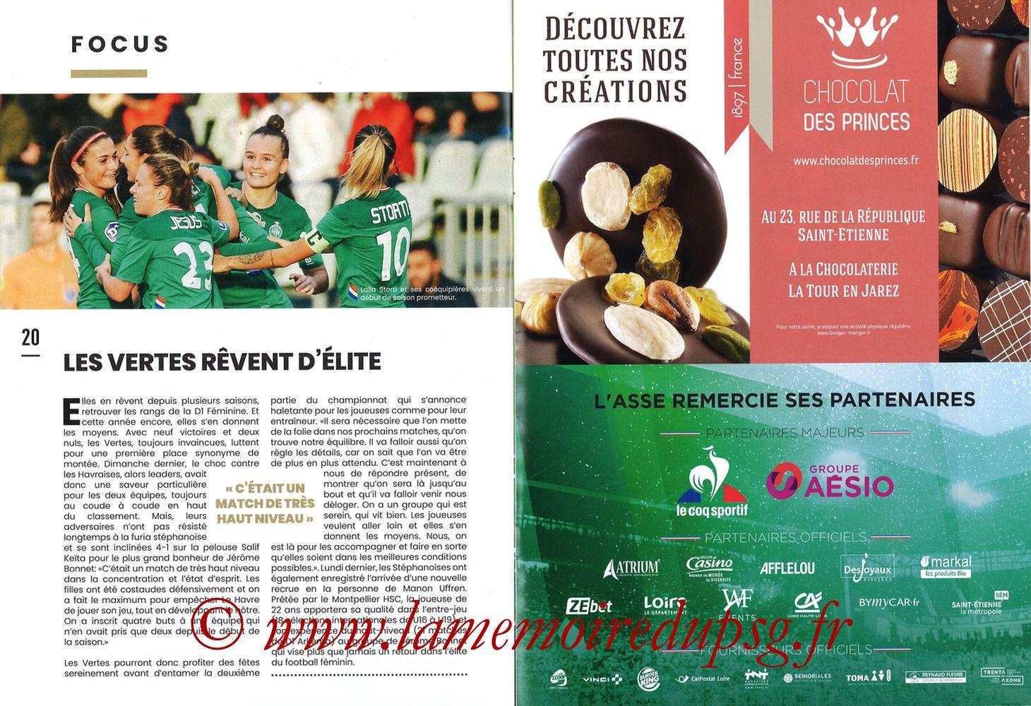 2019-12-15  Saint-Etienne (18ème L1, Maillot Vert N°31) - Pages 20 et 21
