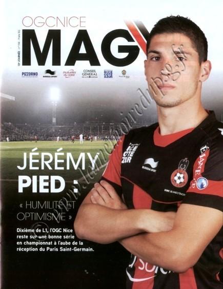 2012-12-01  Nice-PSG (15ème L1, OGC Nice Mag N°194)