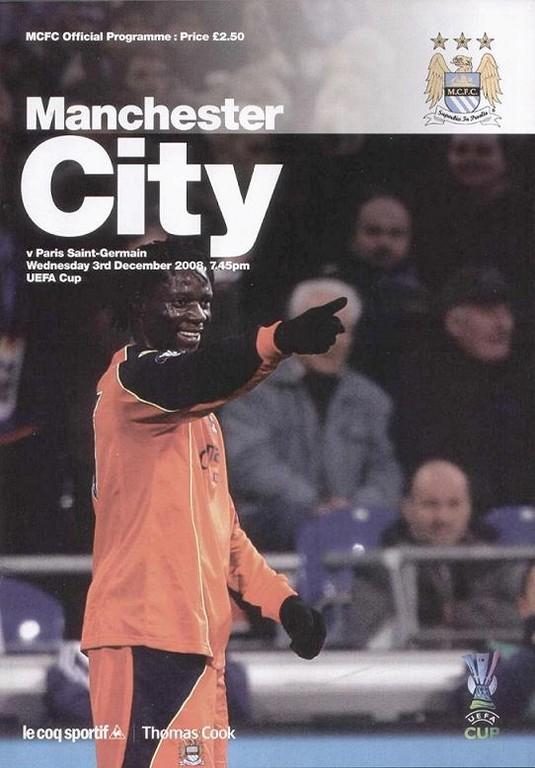 2008-12-03  Manchester City-PSG (4ème journée Poule UEFA,Officiel)