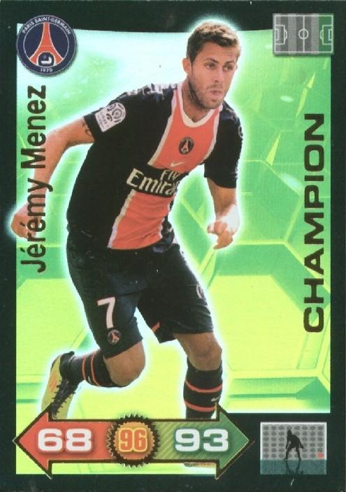 N° 341 - Jérémy MENEZ (Champion)